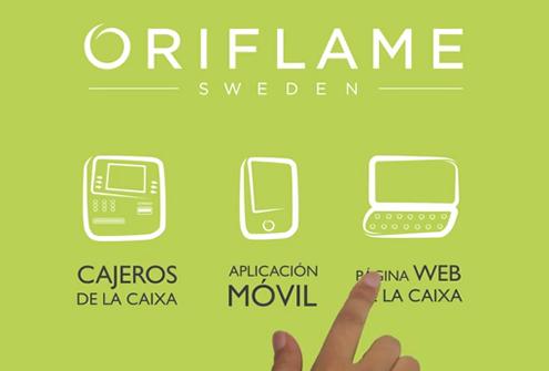 Oriflame Sweden App web